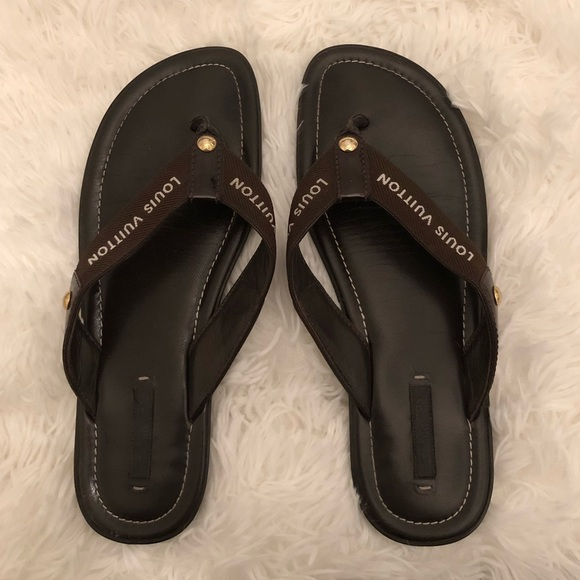 Louis Vuitton Shoes - LOUIS VUITTON FLIP FLOPS